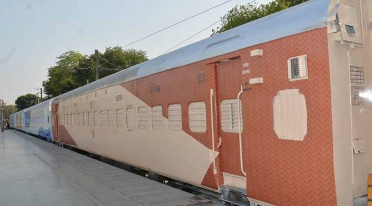 Indian Railways train coaches new colour scheme