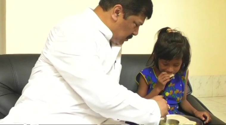 Tripura minister invites man-daughter duo who averted train accident on breakfast