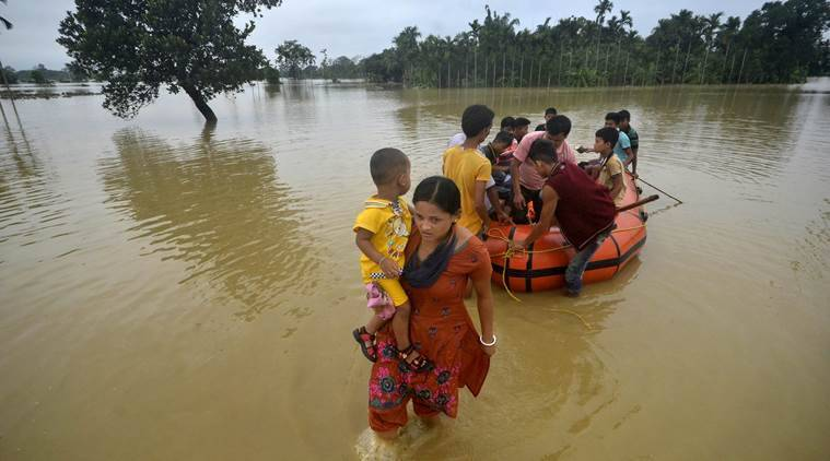 Heavy rain trigger floods in Tripura, CM Biplab Deb requests Army's assistance