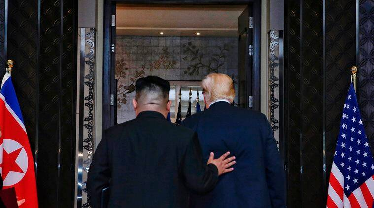 Trump meets Kim in Singapore Summit