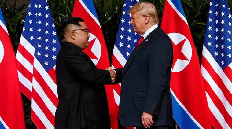 donald trump, north korea, kim jong un, us president, nuclear threat, n korea denuclearization, singapore summit, world news, indian exprss