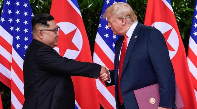 Trump meets Kim in Singapore Summit