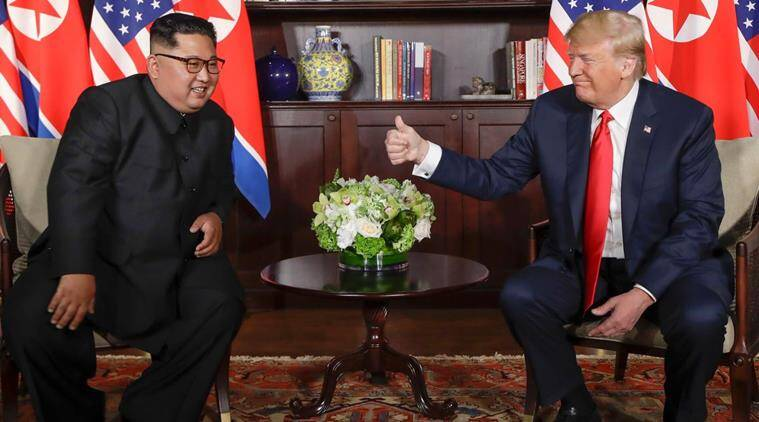 North Korea sanctions to stay until full denuclearisation, says US