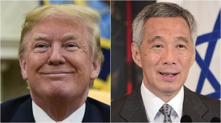 Ahead of Trump Kim meet US President to hold bilateral meetings with Singapore PM Lee Hsien Loong