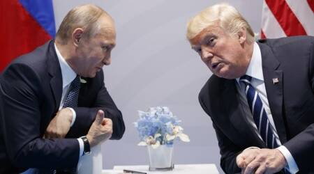 Donald Trump and Vladimir Putin to hold first summit talks as twitchy West looks on