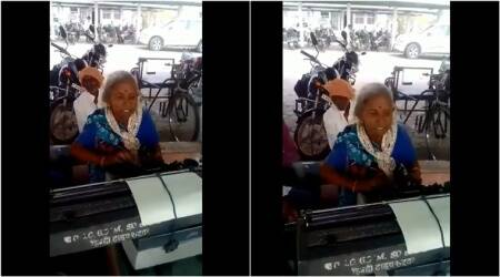 Video of old woman from Madhya Pradesh working as a typist is just the motivation you need
