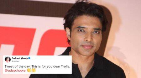 Uday Chopra has an idea to deal with online trolls and Twitterati can't agree more