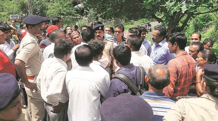 Land acquisition for Bullet Train Project in Gujarat: Farmers try to block land survey, driven out by police