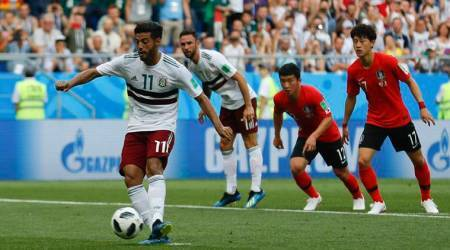 FIFA World Cup 2018 Live Score South Korea vs Mexico Live: South Korea 0-1 Mexico in second half