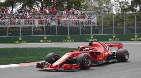 Sebastian Vettel takes 50th win and F1 championship lead in Canada