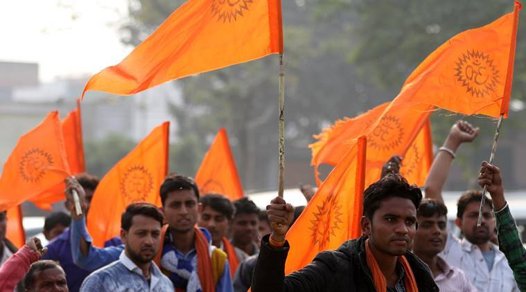 VHP Dharma Sabha today, security net over Ayodhya