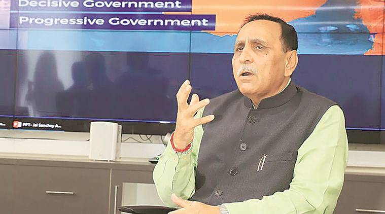 Gujarat: CM Rupani suspends IAS officer, orders graft probe
