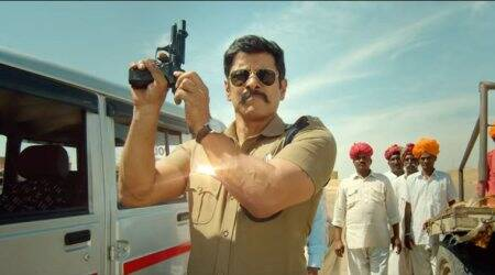 Saamy Square trailer: Vikram plays a cop who is perpetually angry