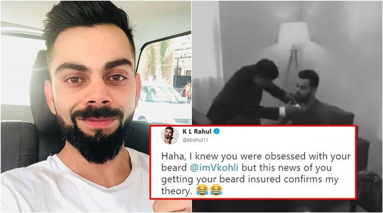 Fear the Beard? Virat Kohli 'accused' of insuring his beard