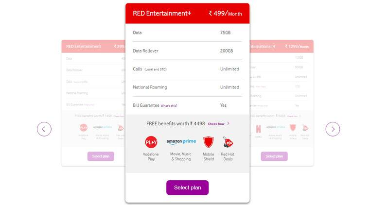 Vodafone, Vodafone Rs 399 postpaid, Vodafone Rs 499 postpaid plan, Vodafone Rs 399 plan data, Vodafone Rs 399 postpaid offer, Vodafone postpaid offer