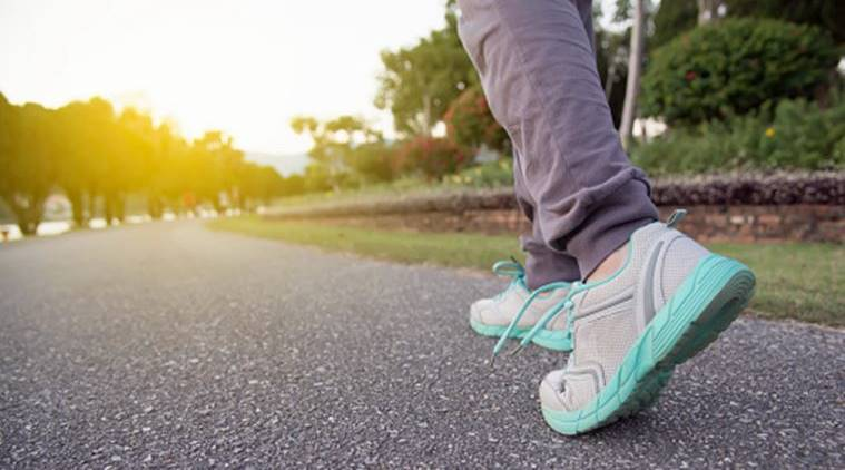 cardiovascular disease, walking, benefits of walking, walking faster, health news, indian express, indian express news