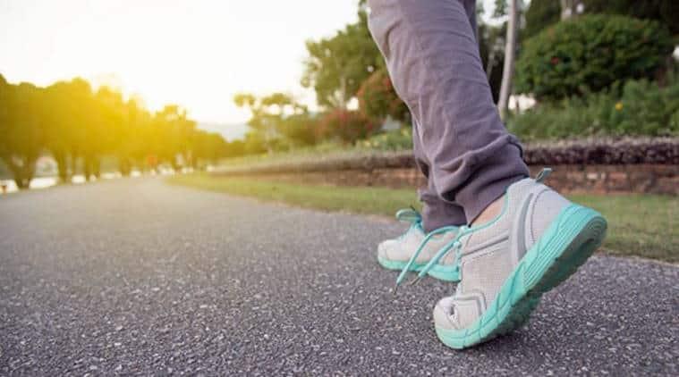 cardiovascular disease, walking, benefits of walking, walking faster, health news, indian express, indian express news