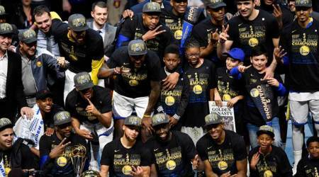 NBA Finals: Golden State Warriors sweep Cleveland Cavaliers for second straight title