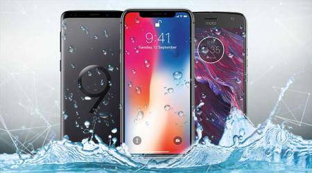 best water resistant phones, apple iPhone X, apple iPhone 8, apple iPhone 8 plus, huawei p20 pro, samsung galaxy s9, samsung galaxy s9+, google pixel 2, google pixel 2 xl, samsung galaxy note 8, ip68 rated, ip67 rated, water resistant phones, android, mobiles
