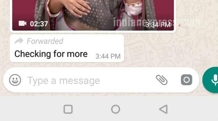 WhatsApp, WhatsApp forwarded message, WhatsApp forwarded label, WhatsApp Android beta, WhatsApp new features, WhatsApp update, WhatsApp news