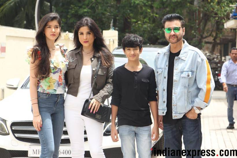 sanjay kapoor family at the trailer launch