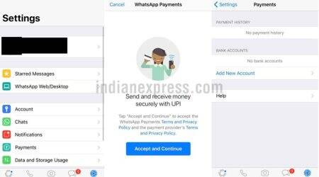 WhatsApp says sharing limited data with Facebook onPayments