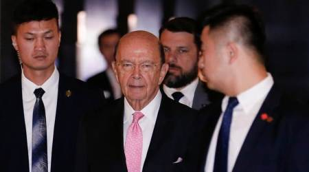 US Commerce Secretary arrives in Beijing for talks on trade surplus