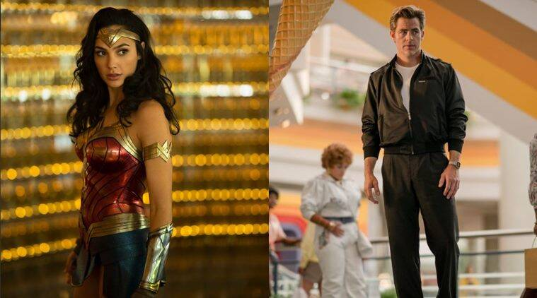 wonder woman 2 is titled wonder woman 1984 and chris pine will return