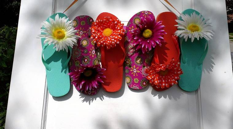 flip-flops, wedges, high ankled canvas shoes, monsoon, rubber footwear, Indian Express, Indian Express News