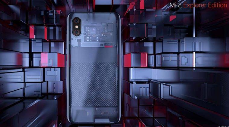 No, Xiaomi's Mi 8 Explorer Edition is not the first transparentdevice