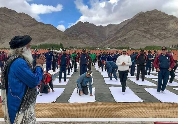 India gears up to celebrate 4th International Yoga Day