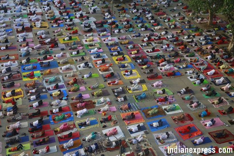 Thousands celebrate International Day of Yoga