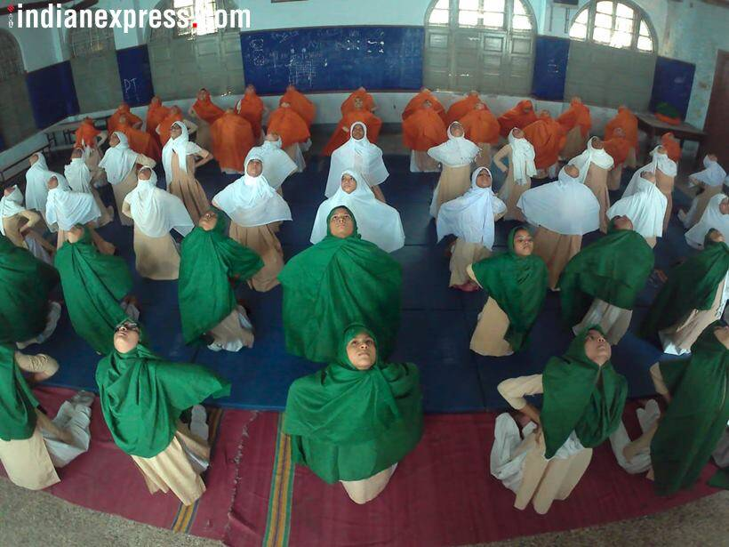 From 15,000 ft in the air to prisons: Yoga fever grips India