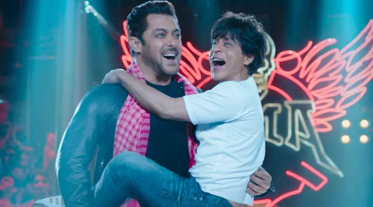 salman khan and shah rukh khan in zero teaser
