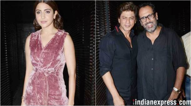 Shah Rukh Khan, Anushka Sharma and others celebrate Aanand L Rai's birthday