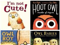 5 cute and fuzzy owl books forkids