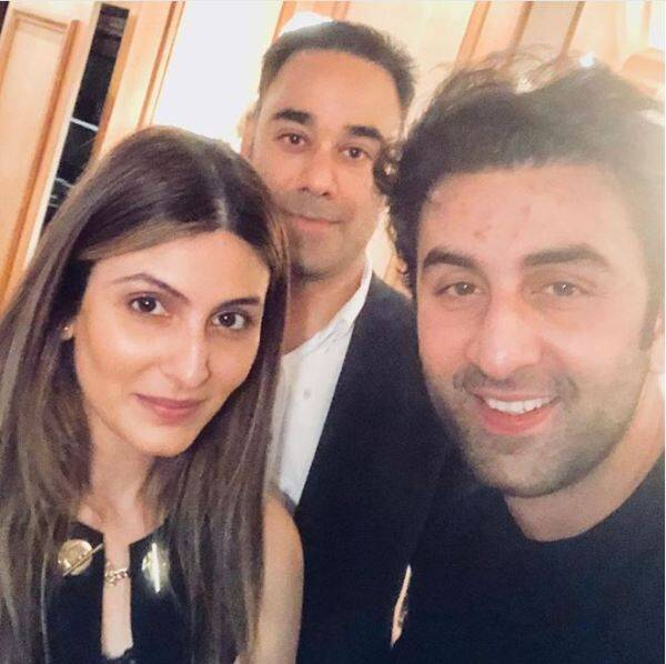 riddhima and ranbir kapoor on neetu chandra birthday celebrations