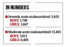 Malnutrition rates 4 times higher in tribal district of Nandurbar