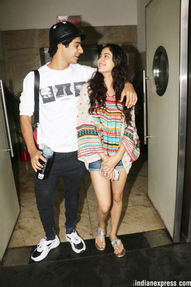 janhvi kapoor and ishaan khatter photo