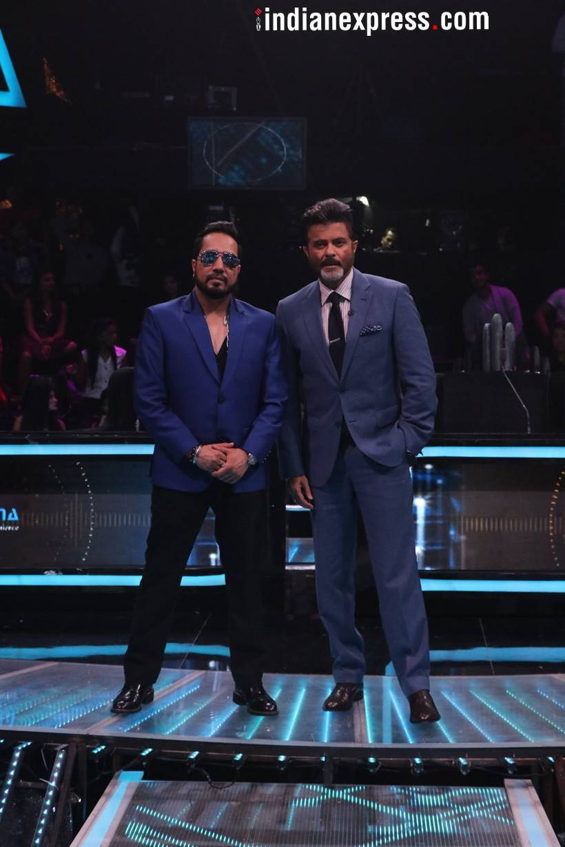 anil kapoor with mika singh