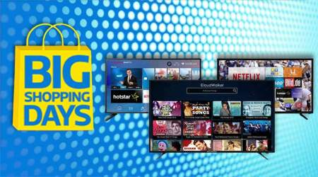 flipkart, flipkart big shopping days sale, smart tv discount, smart tvs under Rs 25,000, iFFALCON LED Smart TV 40-inch, Thomson LED Smart TV B9 Pro 40-inch, Kodak Full HD LED Smart TV 40-inch, LG HD Ready LED Smart TV 32-inch, CloudWalker full HD LED Smart TV 43-inch, smart tv sale, flipkart sale