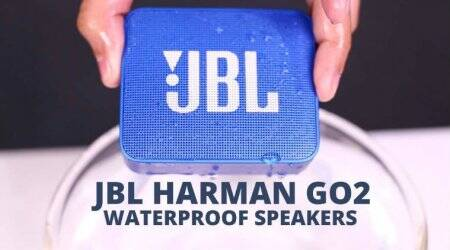JBL Harman Go2 Waterproof Speakers First Look