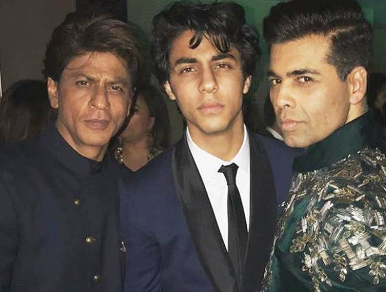 karan johar with shah rukh khan