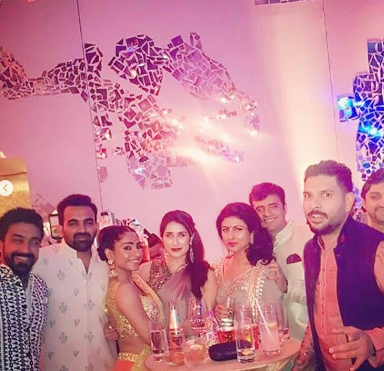 inside pics of poorna patel's wedding