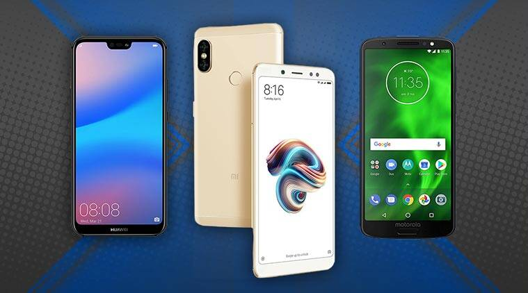 best smartphones under Rs 20,000, top smartphones under Rs 20,000, smartphones under Rs 20,000, best smartphones under Rs 15,000, moto g6, xiaomi redmi note 5 pro, asus zenfone max pro m1, oppo realme 1, oppo f7, huawei p20 lite