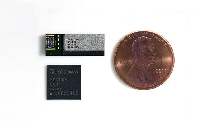 Qualcomm shows off the first mmWave 5G antennas for smartphones