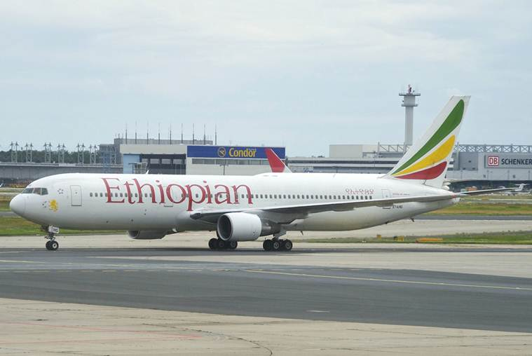 Ethiopian Airlines flight crashes in Addis Ababa en route to Nairobi