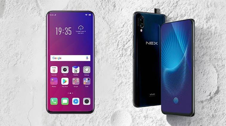 oppo find x, vivo nex, oppo find x vivo nex comparison, oppo find x camera, vivo nex camera, oppo find x features, vivo nex features, oppo find x specifications, vivo nex specifications, oppo find x price in india, vivo nex price in india, oppo find x release date, vivo nex release date, oppo, vivo