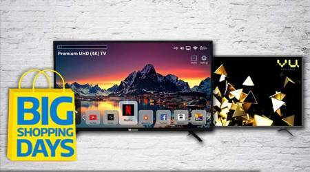 Flipkart Big Shopping Days sale 2018: Top deals, discounts on Ultra HD 4K Smart TVs under Rs 50,000