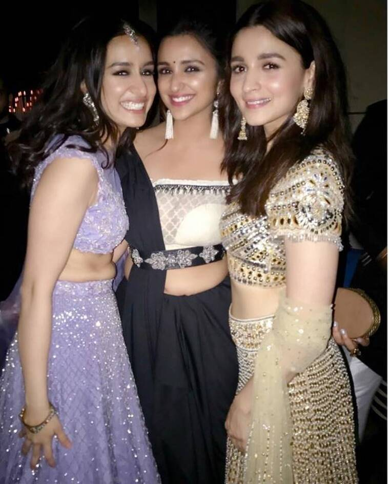 shraddha kapoor parineeti chopra and alia bhatt